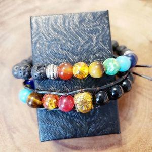 💥FREE w PURCHASE 💥 Chakra Wrap Bracelet